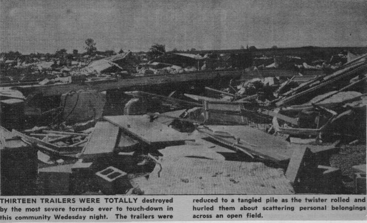Freeburg, IL   Tornado Damage