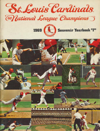 1969 St. Louis Cardinals Yearbook
