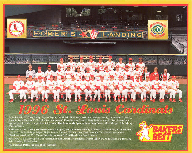 1996 St. Louis Cardinals team photo (SGA)