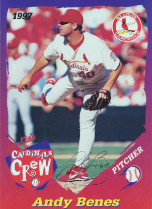 Benes on Ray Lankford St Louis Cardinals
