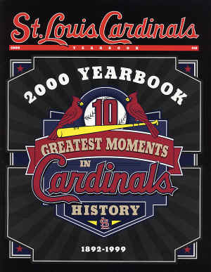 St. Louis Cardinals 2000 Official Yearbook