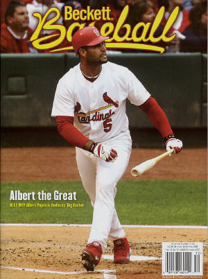 December, Beckett Baseball - Albert Pujols