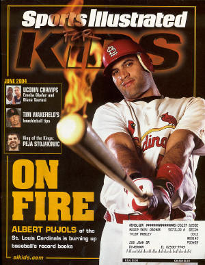 June, Sports Illustrated Kids - Albert Pujols