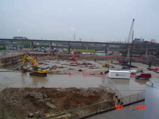 St. Louis Cardinals - New Stadium construction (2004)