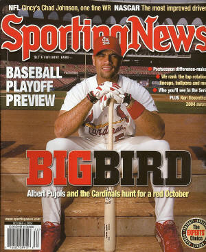 October 4th, Sporting News - Albert Pujols