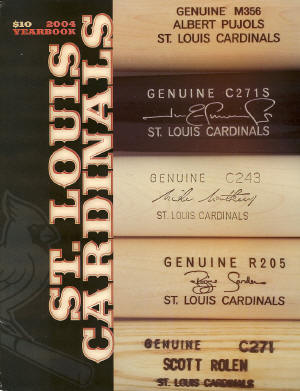 2004 St. Louis Cardinals Yearbook
