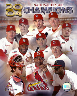 2004 National League Champions - St. Louis Cardinals