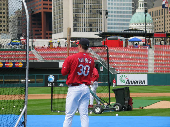 Mark Mulder - St. Louis Cardinals 4H Day - 2006