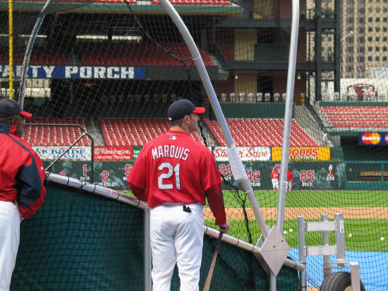 Jason Marquis - St. Louis Cardinals 4H Day - 2006