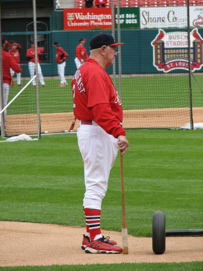 Red Schoendienst - St. Louis Cardinals 4H Day - 2006