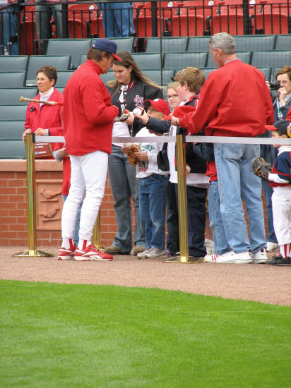 Tony LaRussa - St. Louis Cardinals 4H Day - 2006