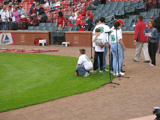 St. Louis Cardinals 4H Day - 2006