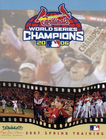 2007 Spring Training program