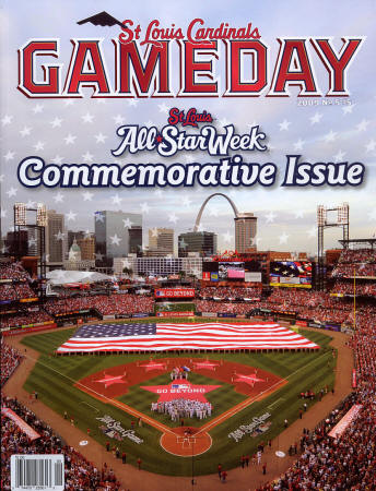 2009 St. Louis Cardinals Gameday All-Star Issue