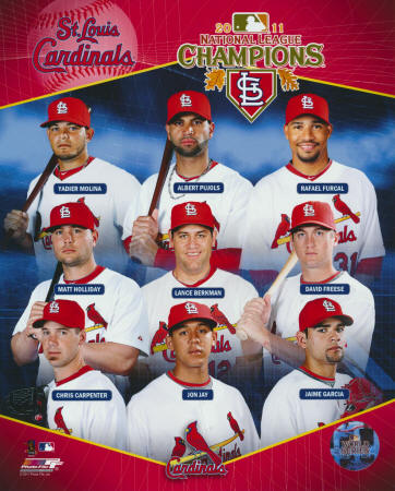 2011 National League Champions - St. Louis Cardinals