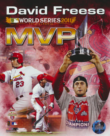 2011 St. Louis Cardinals - David Freese World Series MVP