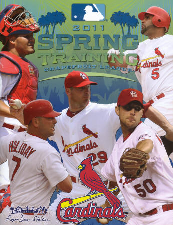 2011 St. Louis Cardinals Spring Training Program