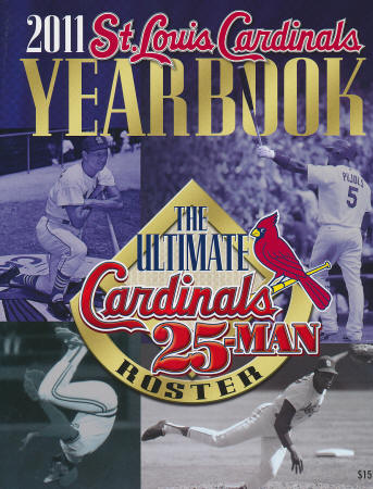 2011 St. Louis Cardinals Yearbook
