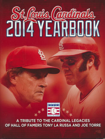 2014 St. Louis Cardinals Yearbook