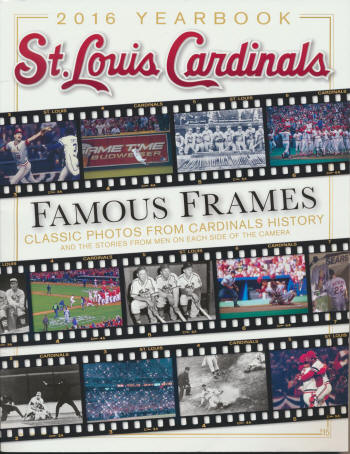 2016 St. Louis Cardinals Yearbook