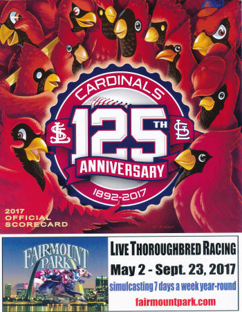 2017 St. Louis Cardinals Scorecard