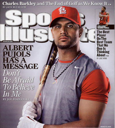 2009 Sports Illustrated - Pujols
