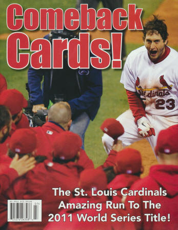 2011 St. Louis Cardinals - Comeback Cards!