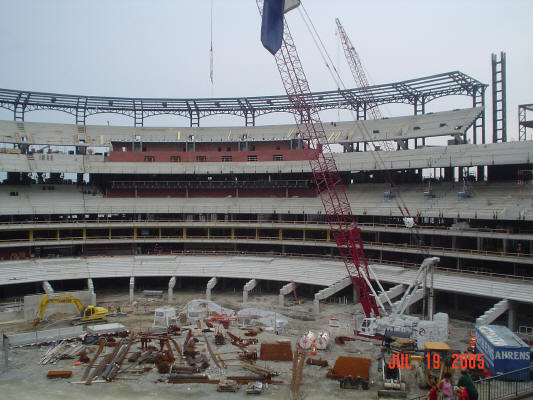 St. Louis Cardinals - New Stadium construction (2005)