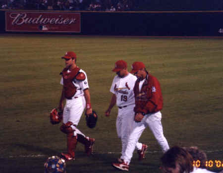 Woody Williams - 2002 NLDS Game #2 Pictures (10/10)