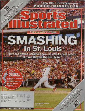 October 4th, Sports Illustrated - Albert Pujols
