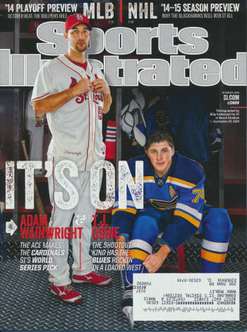 Sports Illustrated - 9/20/14 - Adam Wainwright