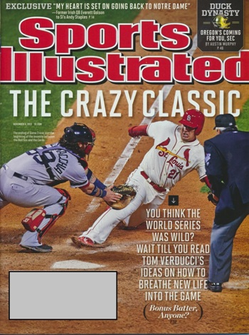 Sports Illustrated - 11/4/2013 - The Crazy Classic