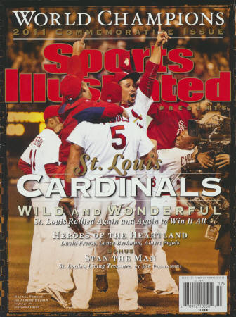 2011 St. Louis Cardinals Sports Illustrated Commemorative Issue