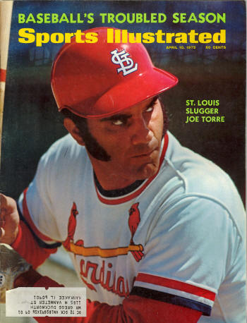 1972 Sports Illustrated - Joe Torre - St. Louis Cardinals