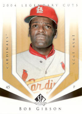 #11 2004 Upper Deck Legendary Cuts - Bob Gibson