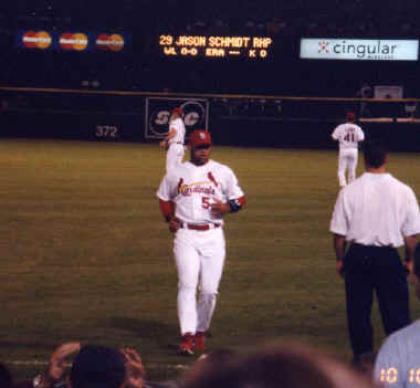 Albert Pujols - 2002 NLDS Game #2 Pictures (10/10)
