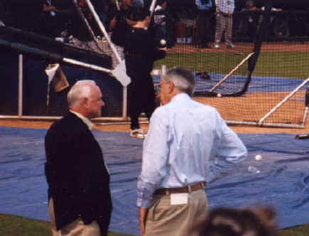 Walt Jocketty - 2002 NLDS Game #2 Pictures (10/10)