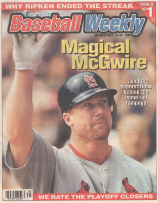 1998 - USA Today Baseball Weekly - Magical Mark McGwire
