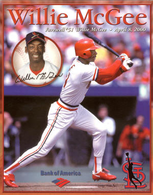 St. Louis Cardinals - 2000 Willie McGee #51